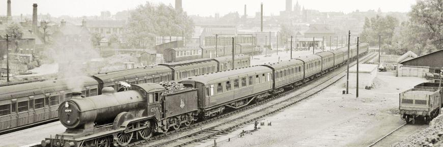 Norwich City Station, Harry Townley (Industrial Railway Society Collection)